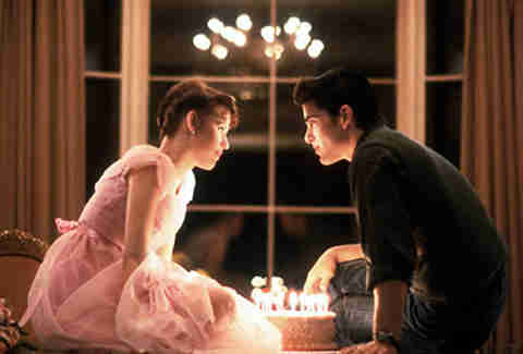molly ringwald jake ryan sixteen candles