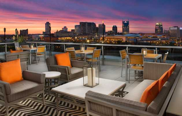 Celebrate Day-Drinking Season at Nashville's Best Rooftop Bars