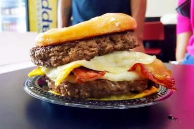 Glazed the Donut Cafe burger