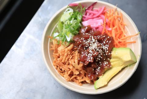 Best new restaurants bars in new york city may 2016 for Fish me poke menu
