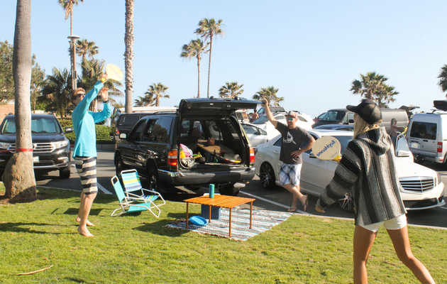 The Dos and Don'ts of a Beach Parking Lot Hangout