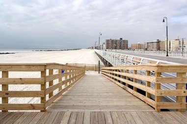 Long Beach, NY boardwalk