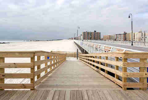 Long Beach, NY boardwalk