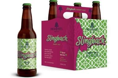 high heel brewing slingback perry ale