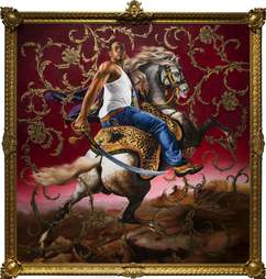 Officer of the Hussars painting