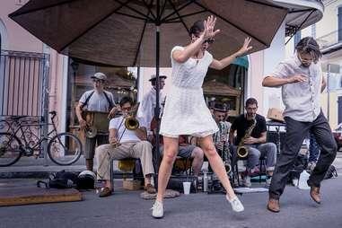 dancing in new orleans