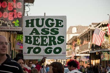 Huge Ass Beers sign