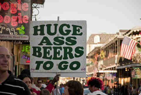 Huge Ass Beers sign