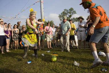 watermelon ritual, New Orleans