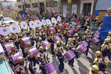 marching band new orleans