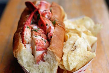Fish Bar lobster roll