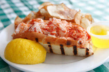 New England Seafood Company Lobster Roll