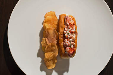 Acadia lobster roll