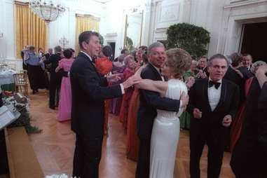 President Reagan Wants to Dance with his Wife