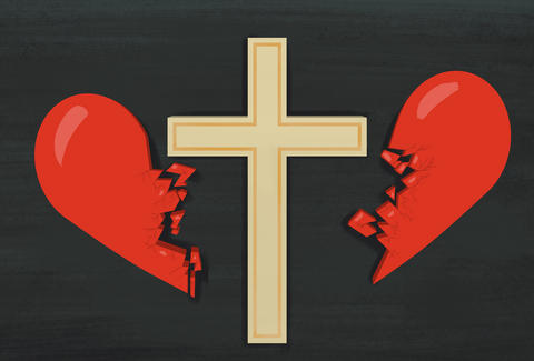 Broken up with for Jesus illustration by Jason Hoffman