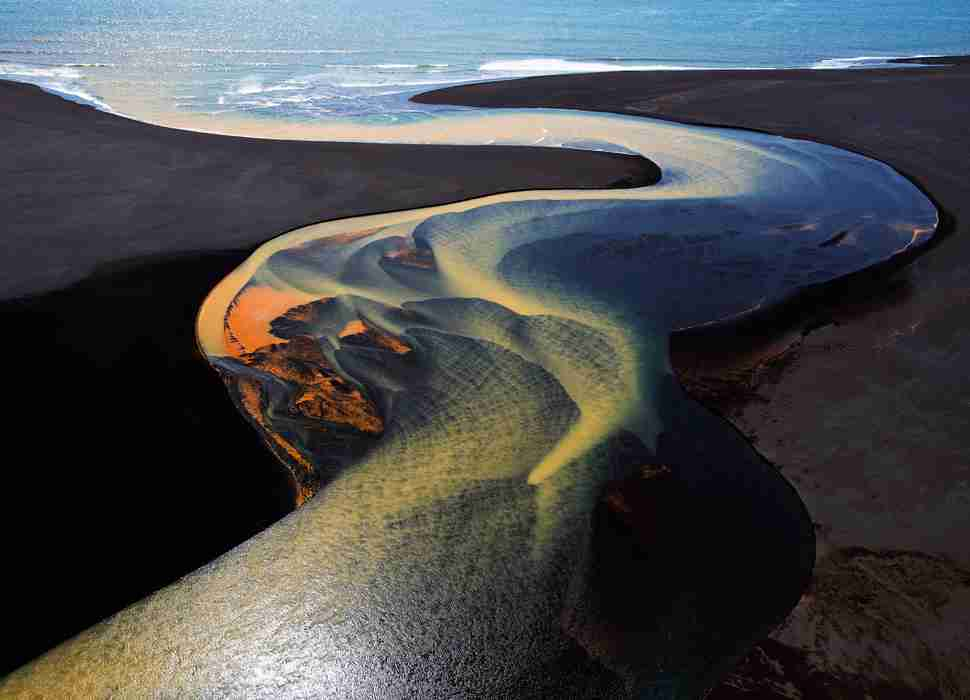River Delta Iceland National Geographic