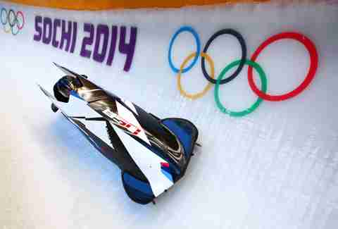 Silver and gold for BMW and Team USA Bobsled in Sochi 2014