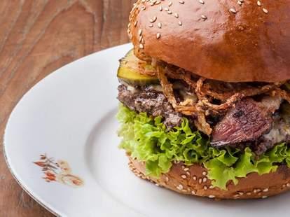 Dish {fine burger bistro} Smoky Burger