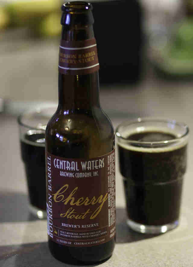Central Waters Bourbon Barrel-aged Cherry Stout