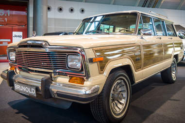 Exterior of Jeep Wagoneer