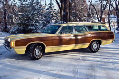 1972 Ford Country Squire Station Wagon