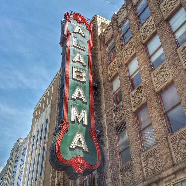 Alabama theater Birmingham