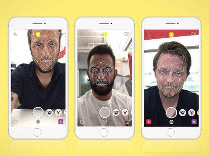 snapchat facial recognition