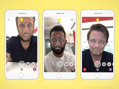 snapchat facial recognition