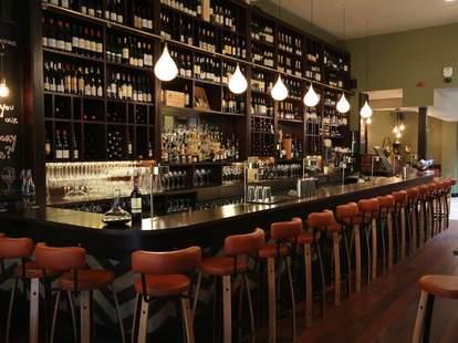 The Exchequer Wine Bar interior