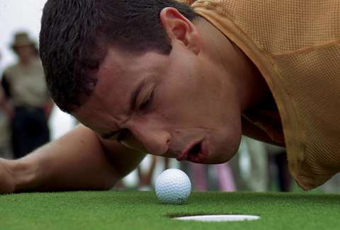 Happy Gilmore, Adam Sandler, Golf ball