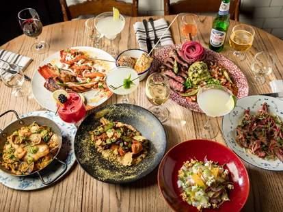 mexican food at 777