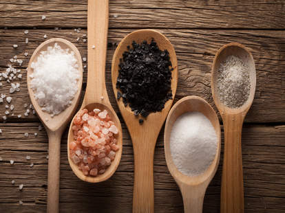 different salts