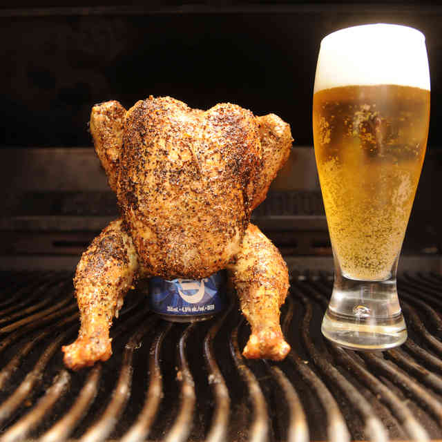 How to Grill the Perfect Beer-Can Chicken Every Time