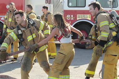 firemen date on bachelorette