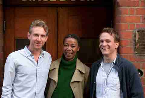 Jamie Parker, Noma Dumezweni and Paul Thornley, Cursed Child's Harry, Hermione, and Ron