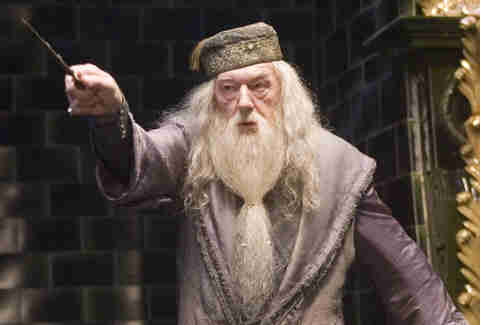 harry potter dumbledore Michael Gambon