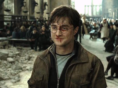 Harry Potter and the Deathly Hallow Daniel Radcliffe