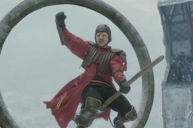 harry potter quidditch rupert grint