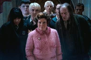 Harry Potter Dolores Umbridge and Draco Malfoy, Imelda Staunton and Tom Felton