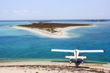 Dry Tortugas water plane