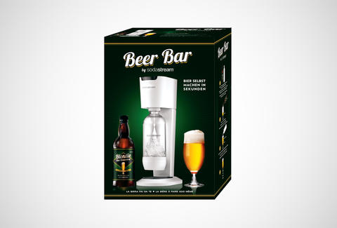 beer bar from sodastream