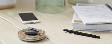 spire stress tracker on desk