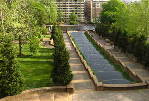 Meridian Hill Park in DC