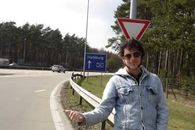 Hitchhiking Europe