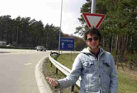Hitchhiking Europe