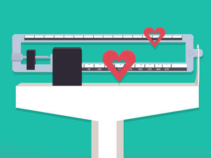 Losing weight changed my relationship illustration by Jason Hoffman