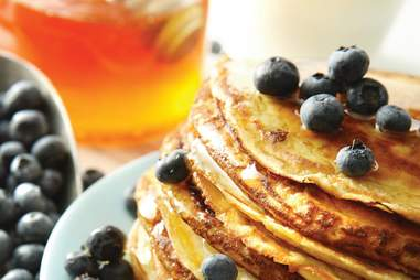 Pancakes at Orange Hill Restaurant