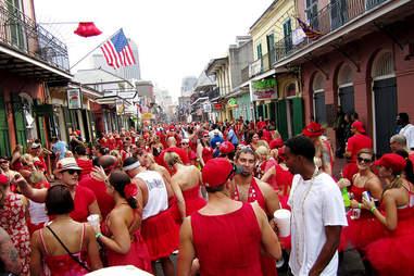 Red dress run NOLA