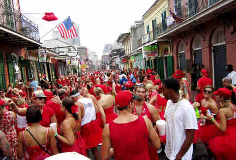 Red dress run NOLA