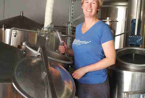 Brewer Robyn Schumacher, Stoup Brewing